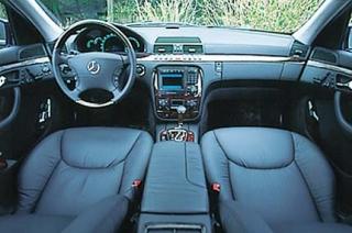メルセデス・ベンツ S600L インパネ|ニューモデル試乗