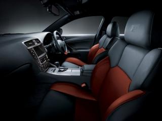 レクサス IS F Blazing Terracotta interior インテリア|ニューモデル速報