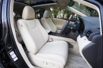 レクサス RX フロントシート|ニューモデル試乗