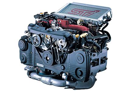 スバル インプレッサ 水平対向エンジン|人気車購入ガイド  ↑スバルならではの水平対向エンジンは