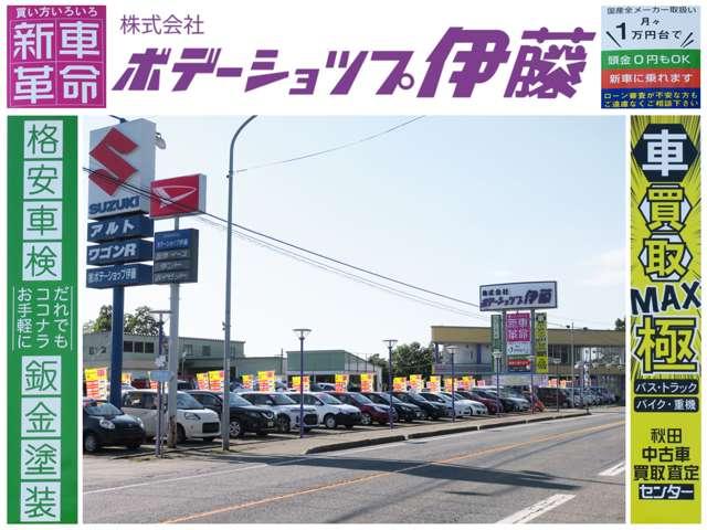 (株)ボデーショップ伊藤 中古車ビッグスタジアム昭和の店舗画像
