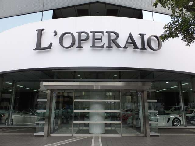 ◆L'operaio世田谷◆ ~全天候型高級輸入車ショールーム~