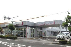 滋賀三菱自動車販売(株) 彦根店の店舗画像