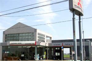 滋賀三菱自動車販売(株) 高島店の店舗画像