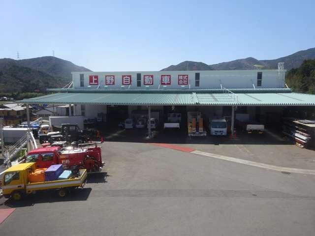 5000坪の兵庫篠山支店です。整備工場・塗装ブース完備!