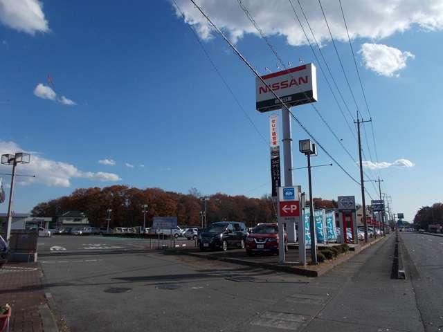 栃木日産自動車販売 壬生店の店舗画像