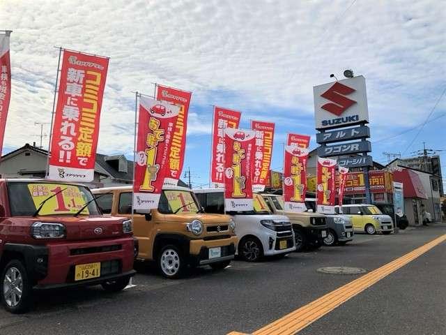軽39.8万円専門店! 全車、修復歴(事故)なし、メーター改ざんなし、保証付き販売!